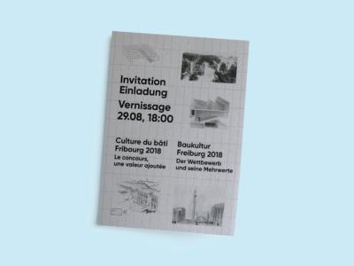 exposition culture du bâti fribourg 2018